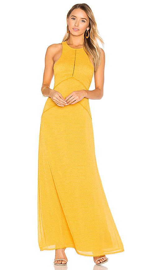 House of Harlow 1960 x REVOLVE Allegra Maxi Dress in Mustard