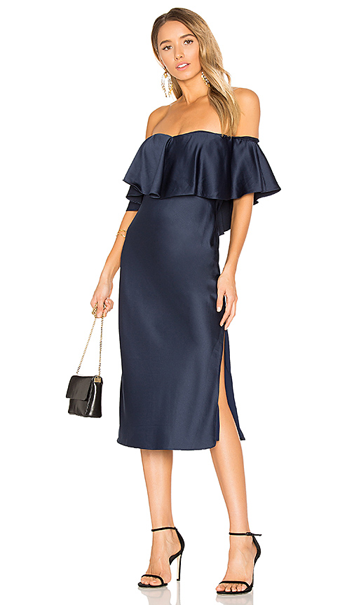 House of Harlow 1960 x REVOLVE Newton Dress in Navy