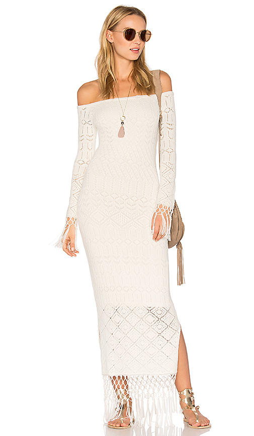 House of Harlow 1960 X REVOLVE Rose Dress in White