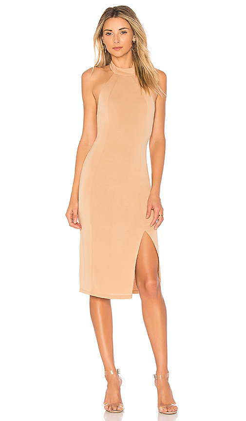 House of Harlow 1960 x REVOLVE Genette Dress in Tan