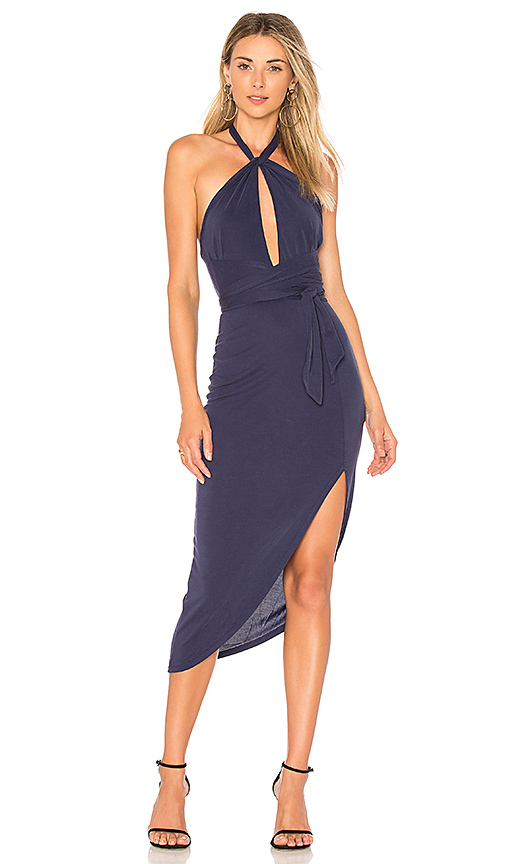 House of Harlow 1960 x REVOLVE Loretta Dress in Navy