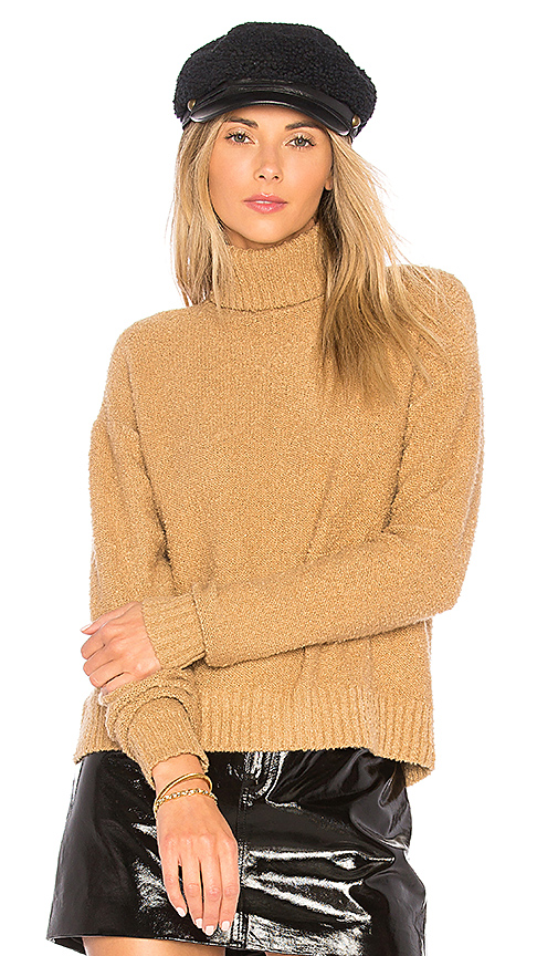 House of Harlow 1960 x REVOLVE Renee Pullover in Tan. - size L (also in M,S,XL, XS)