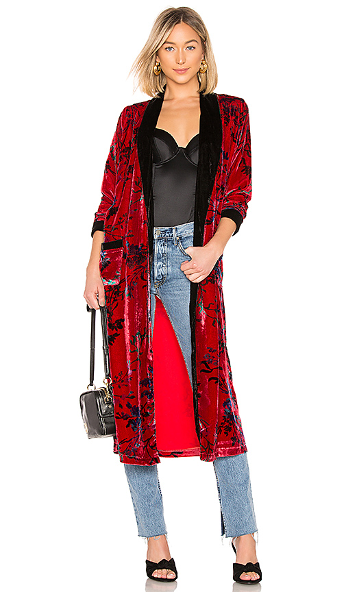 House of Harlow 1960 x REVOLVE Edwin Robe in Red. Size XS.