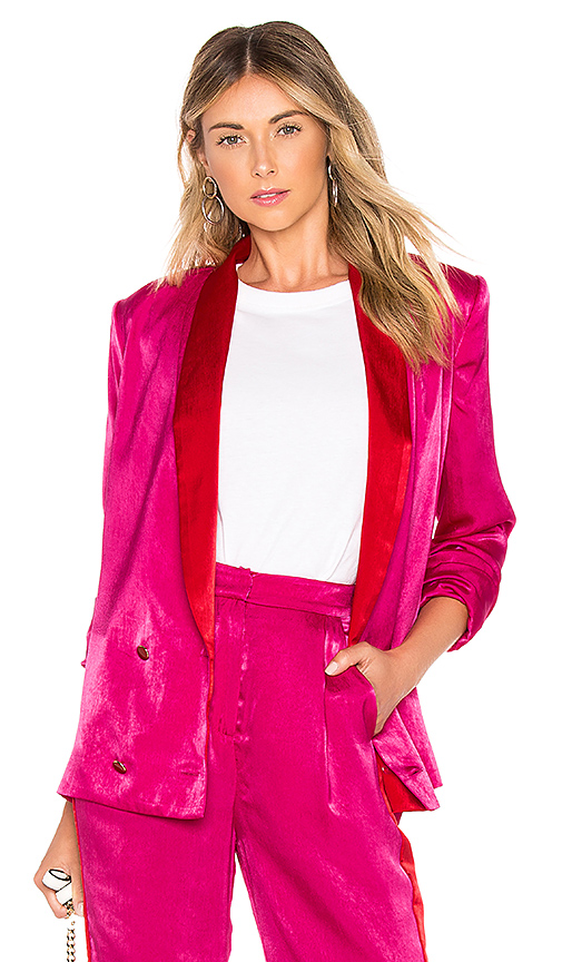 House of Harlow 1960 x REVOLVE Mira Jacket in Pink. Size M.