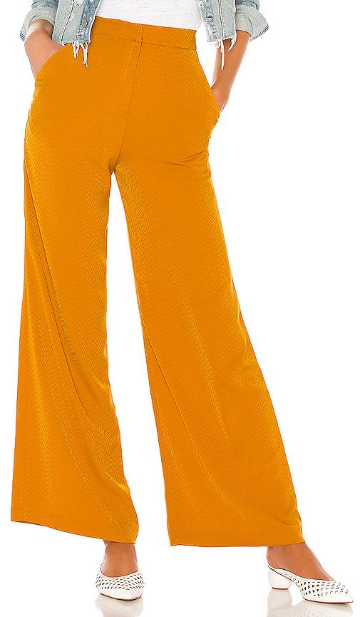 House Of Harlow 1960 X Revolve Mona Pant In Orange. In Rich Orange
