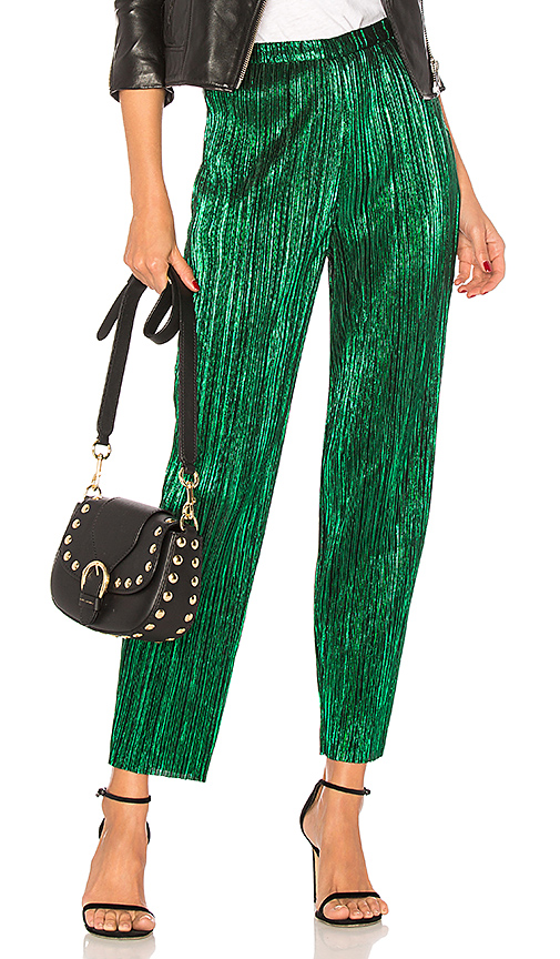 House of Harlow 1960 Kate Pant in Green. - size L (also in M,S,XL, XS)