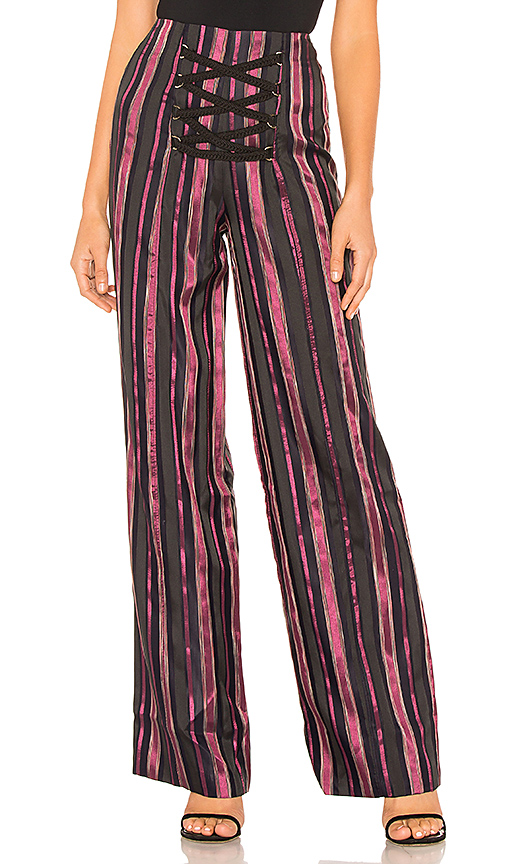 House of Harlow 1960 x REVOLVE Kitty Pant in Purple. Size XS,S.