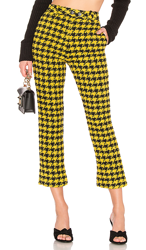 House of Harlow 1960 X REVOLVE Juni Pant in Yellow. Size XS,S.