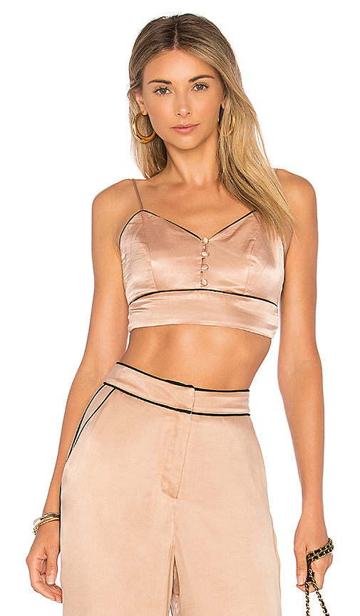 House of Harlow 1960 x REVOLVE Bailey Bralette in Blush
