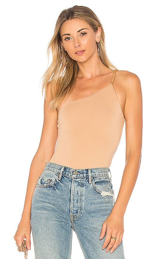 House of Harlow 1960 x REVOLVE Rhonda Bodysuit in Tan