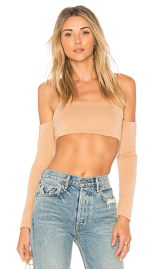 House of Harlow 1960 x REVOLVE Val Top in Tan