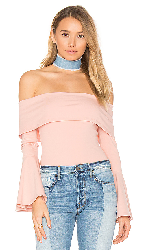 House of Harlow 1960 x REVOLVE Abby Bodysuit in Pink