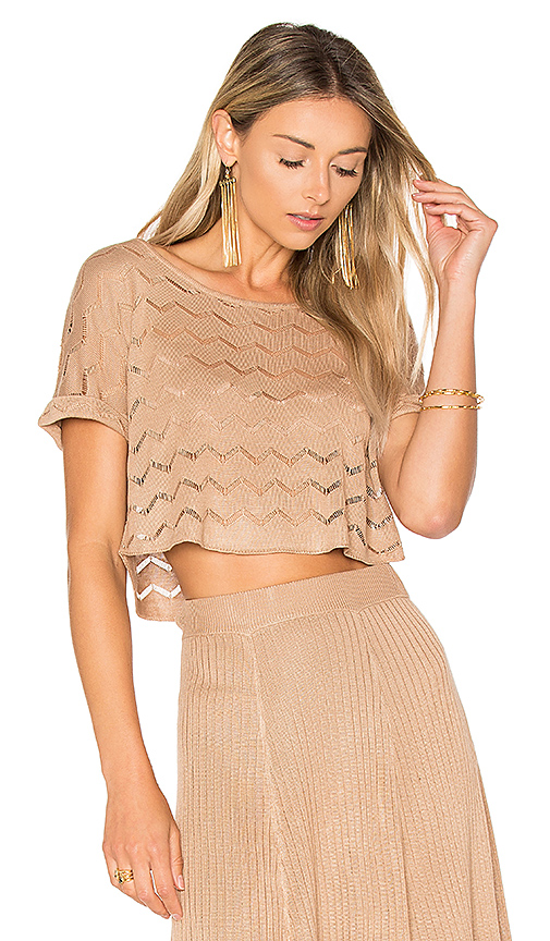 House of Harlow 1960 x REVOLVE Shay Top in Tan