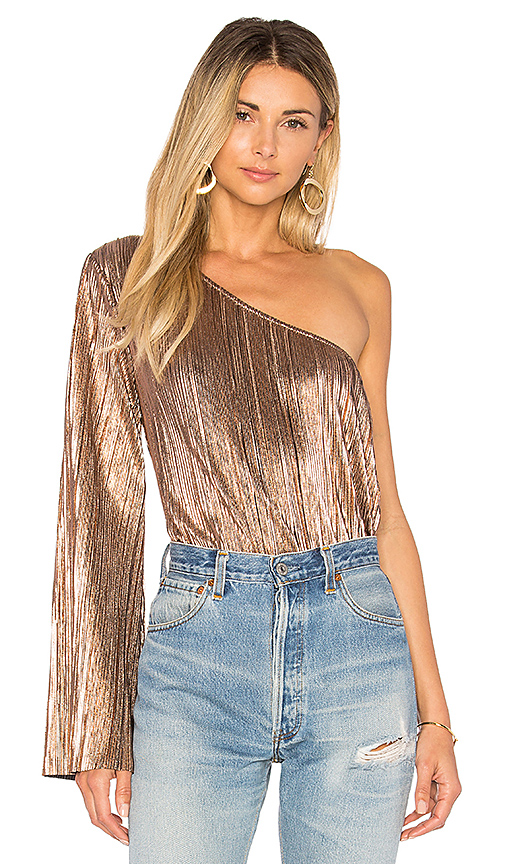 House of Harlow 1960 x REVOLVE Ross Top in Metallic Gold