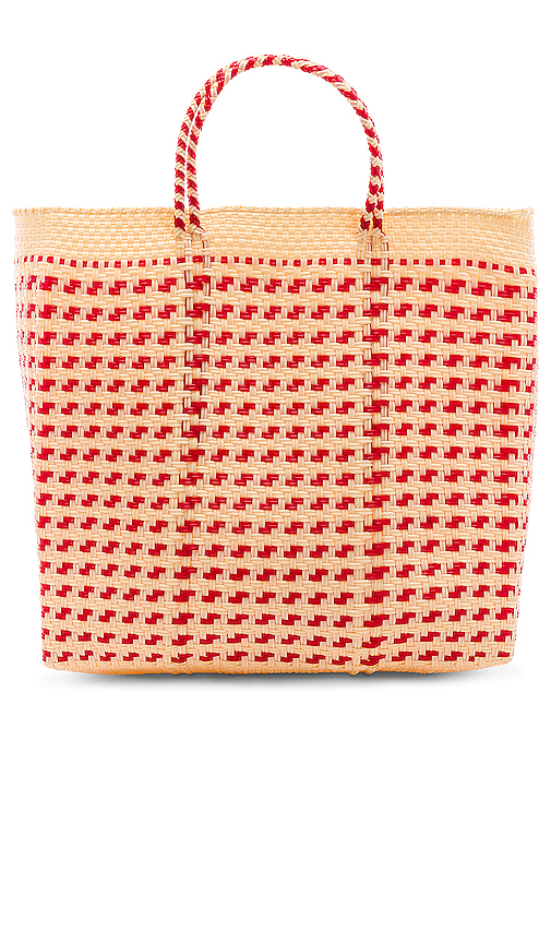 House of Harlow 1960 X REVOLVE Cenote Tote in Red.