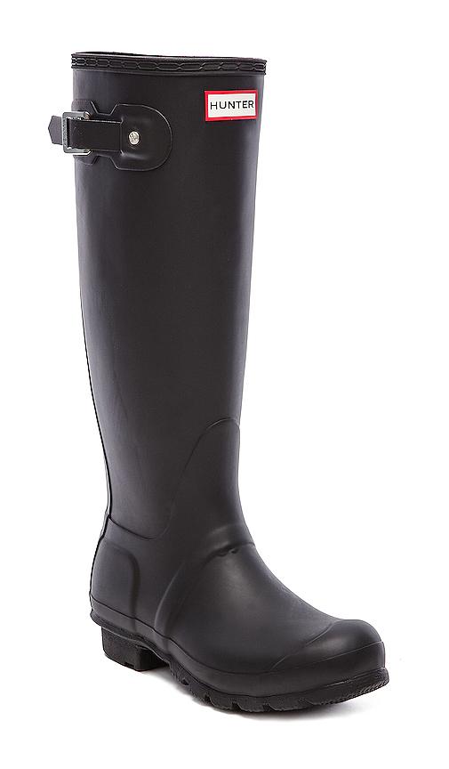 Hunter Original Tall Rain Boots in Black