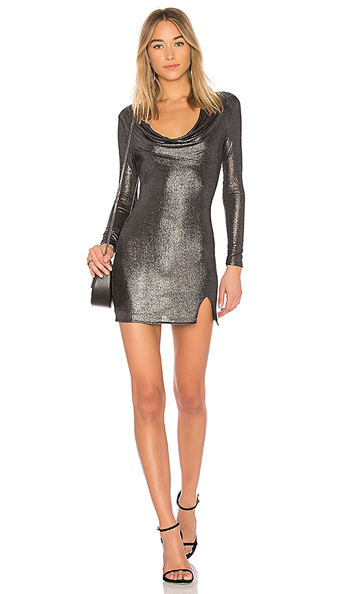 h:ours x REVOLVE Carter Dress in Gray