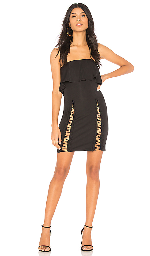 h:ours Caia Dress in Black