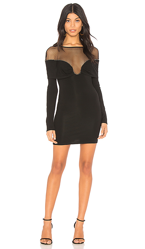 h:ours Smith Dress in Black