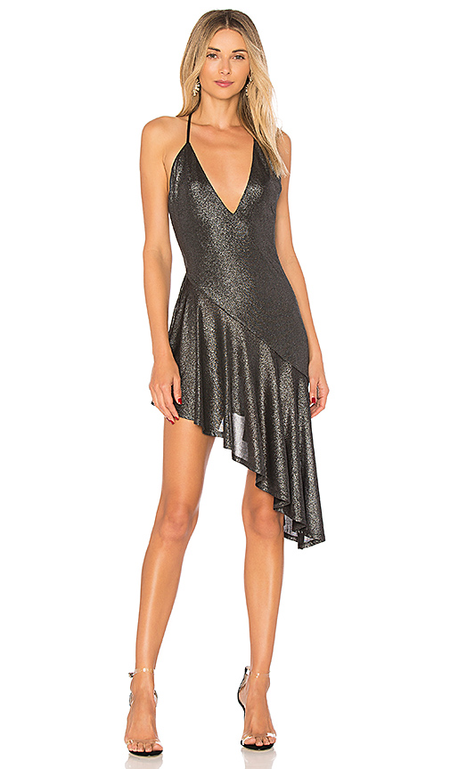 h:ours That Love Dress in Metallic Silver. - size L (also in M,S,XS, XXS)