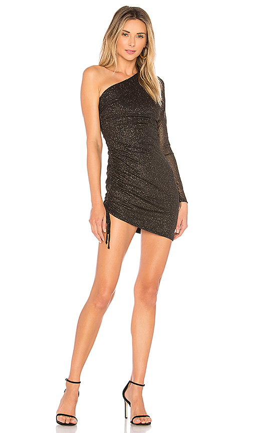 h:ours Marisol Dress in Black
