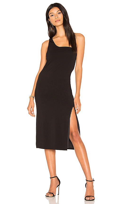 h:ours Savanah Dress in Black