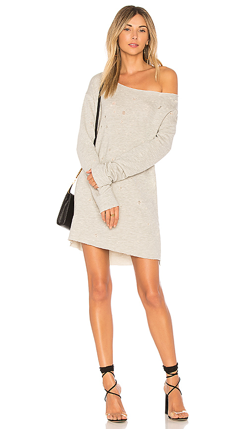 h:ours x REVOLVE Wilcox Oversized Pullover in Gray
