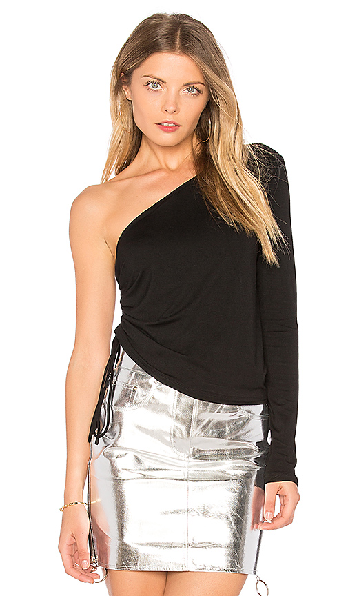 h:ours Cameron Top in Black
