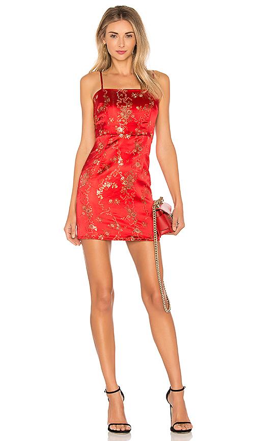 IAM GIA Kiko Dress in Red