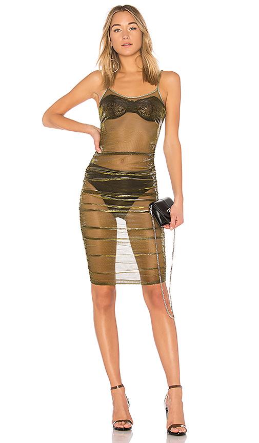 IAM GIA Selena Dress in Metallic Silver