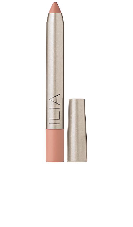 Ilia Lipstick Crayon in Nude.