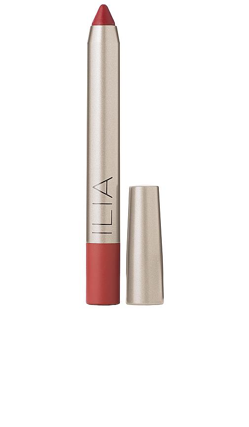 Ilia Lipstick Crayon in Red.