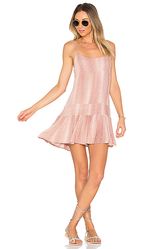 Indah Juniper Mini Dress in Rose