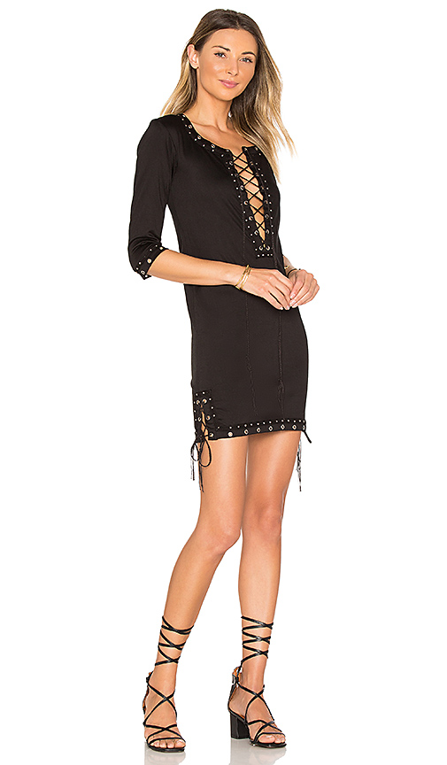 Indah Sid Mini Dress in Black