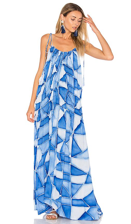 Indah Bellmer Dress in Blue