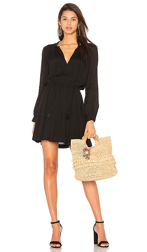 Indah Ziggy Dress in Black