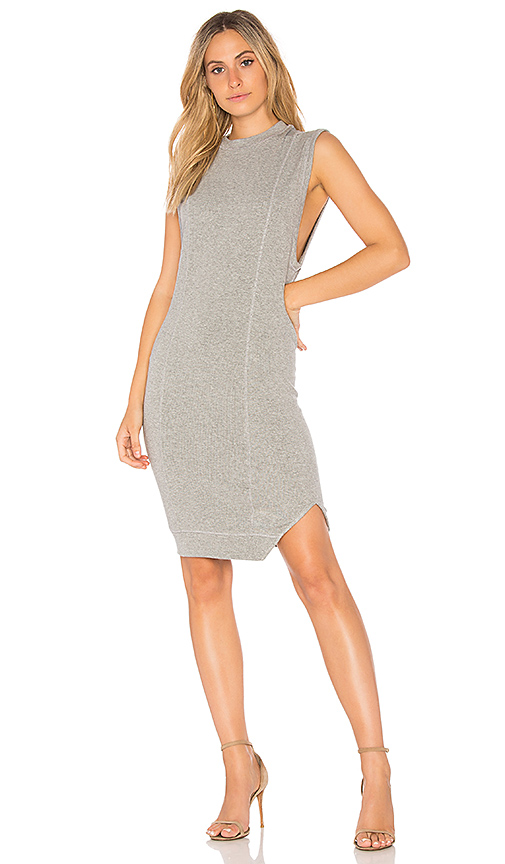 Indah Lobster Dress in Gray