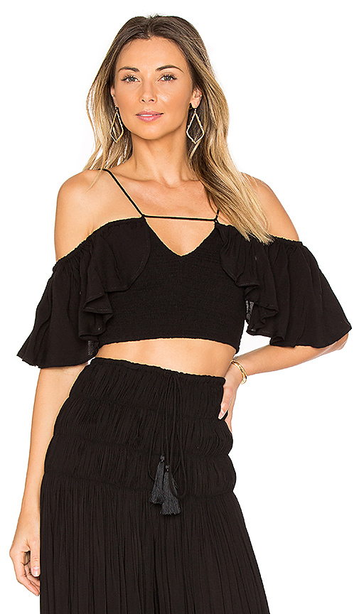 Indah Roxy Top in Black