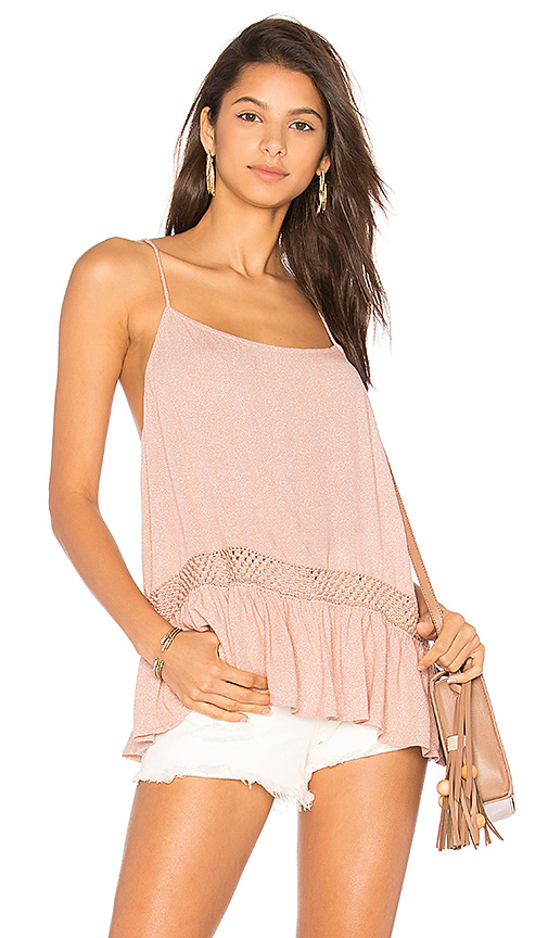 Indah Cosette Cami in Rose