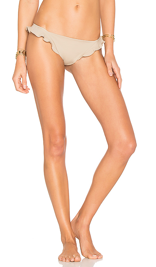 Indah Flurry Bottom in Taupe