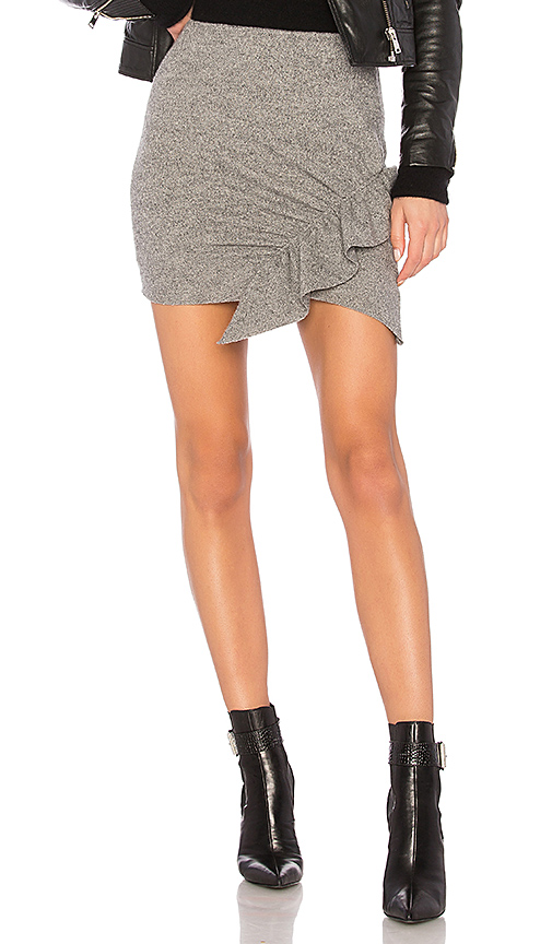 IRO Toman Skirt in Gray. - size XS (also in S,M,L)