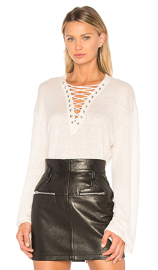 IRO Alety Top in Ivory