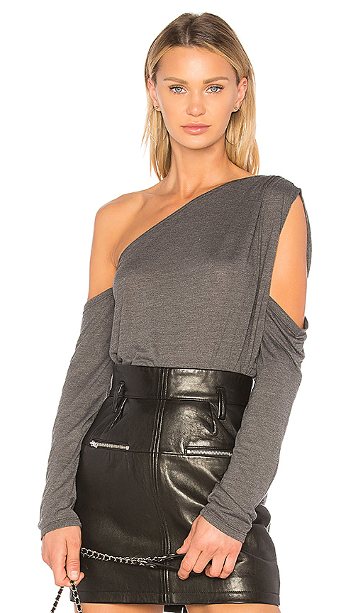 IRO JEANS Ordale Top in Gray
