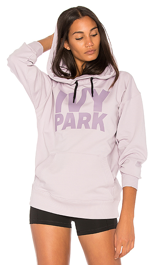 IVY PARK Logo Hoodie in Lavender. - size L (also in M,S,XS)