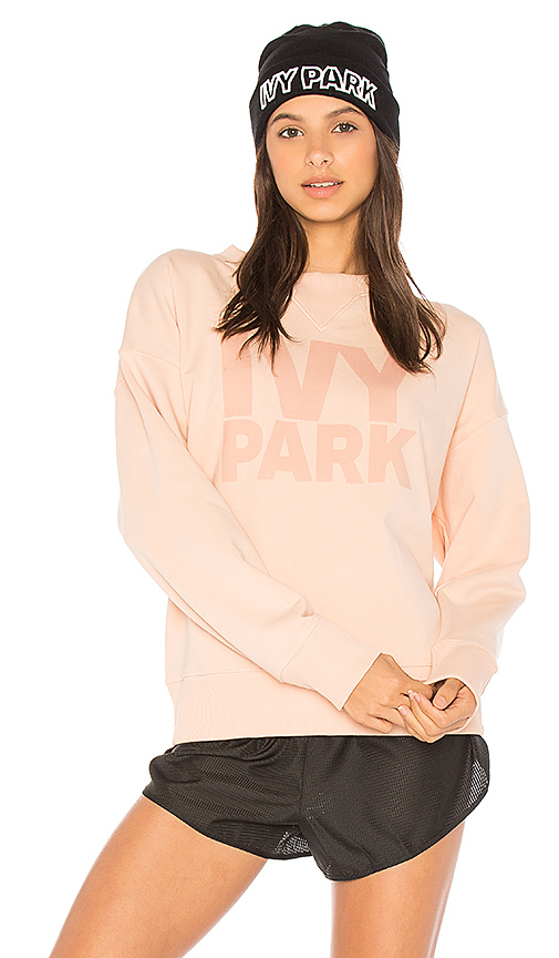 IVY PARK Casual Sweatshirt in Blush