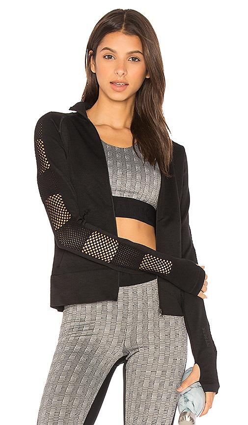 IVY PARK Mesh Sleeve Jacket in Black