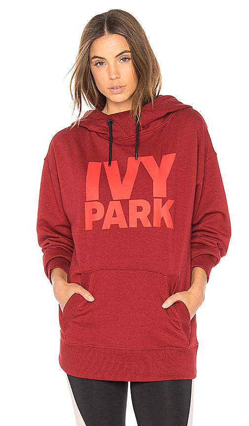 IVY PARK Casual Hoodie in Red