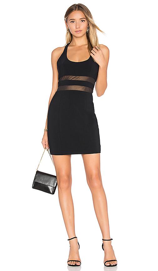 Jay Godfrey Perot Dress in Black