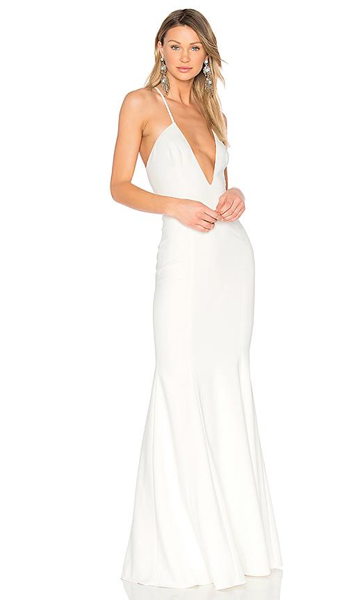 Jay Godfrey Kirani Gown in White