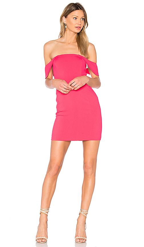 Jay Godfrey Lang Dress in Pink